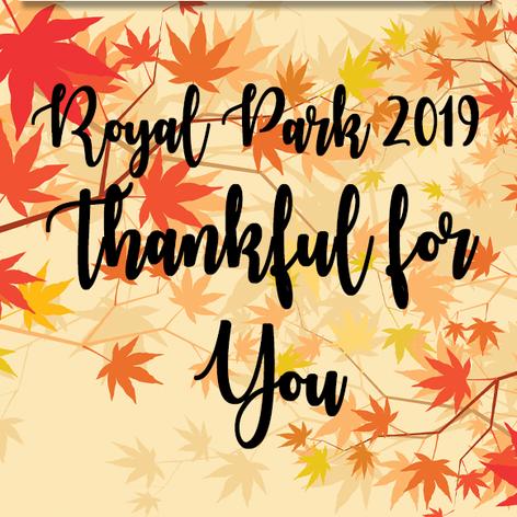 Royal Park Retirment Center Thanksgiving