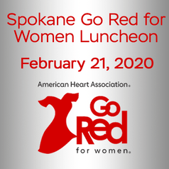 """American Heart Assoc. """"Go Red"""""""