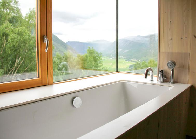 Innebygd badekar