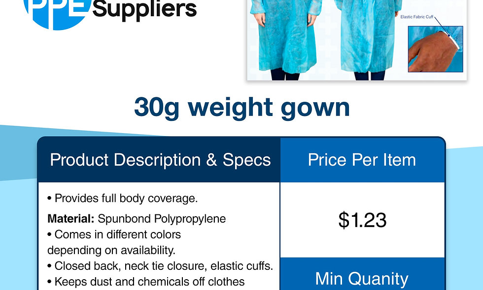 30g Weight Gown