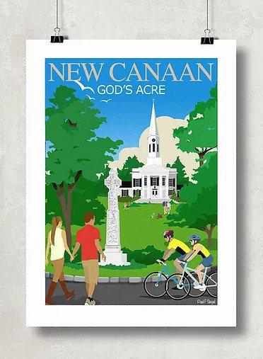 Framed God's Acre Poster