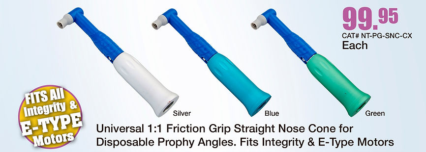 Prophy Universal 1:1 Friction Grip Straight Nose Cone