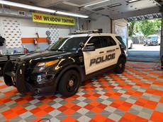 POLICE CAR TINTS