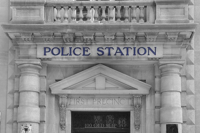 Police Station facade