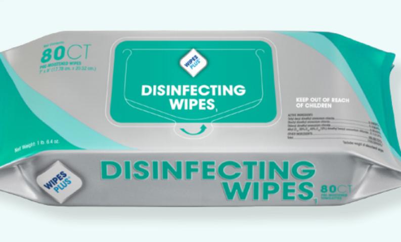 WipesPlus Disinfectant Wipes