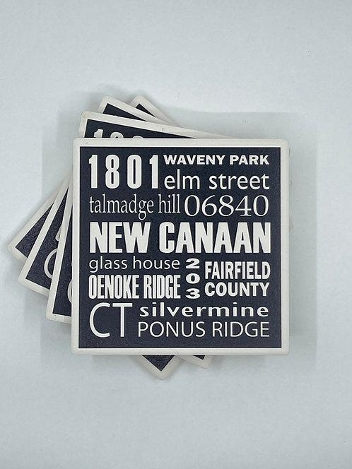 New Canaan Coasters