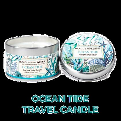 Ocean Tide Travel Tin Candle (20hr burn)