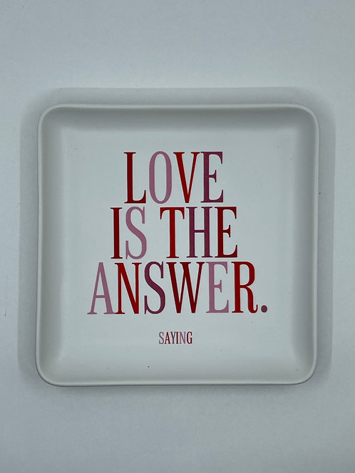 """Love is the Answer"""