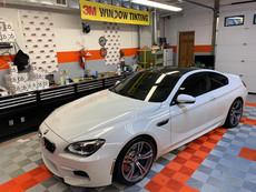 WHITE BMW TINTS
