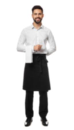 Handsome waiter on white background.jpg
