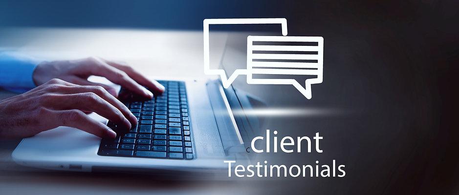 Testimonials Feedback Client Service Bus