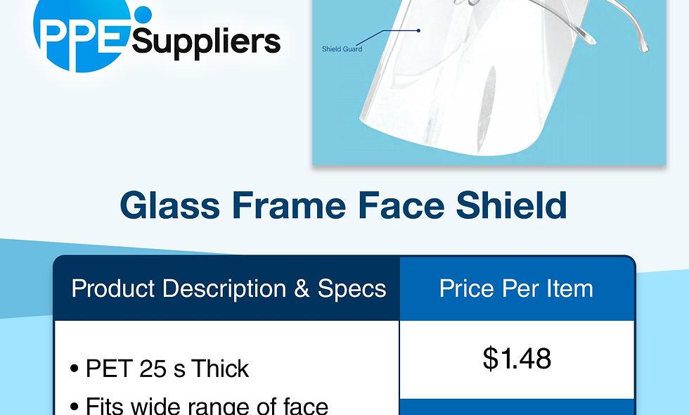 Glass Frame Face Shield