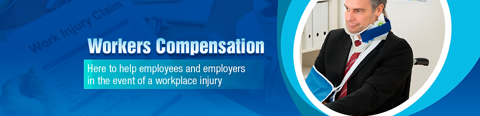 Workers compensation banner