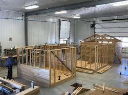 Construction d'un cabanon en cèdre
