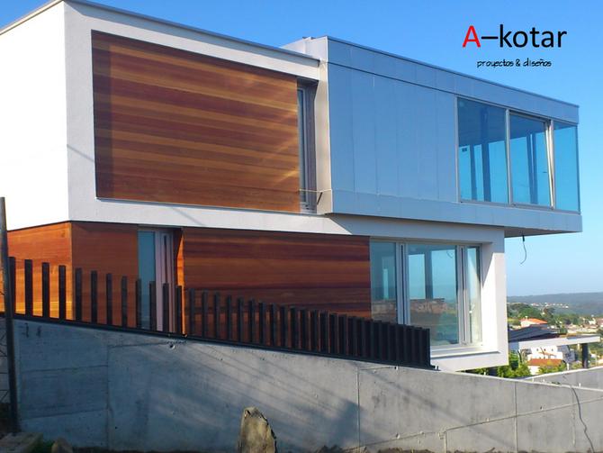 Colaboración en diseño de Chalet en Ferrol