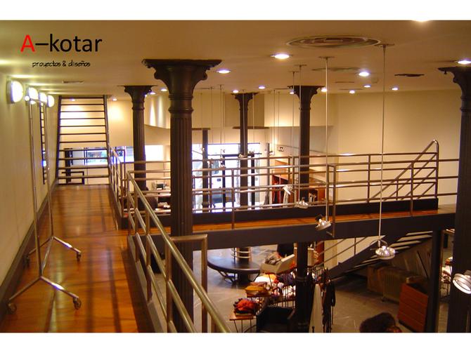 Luces y espacios para dinamizar un local el Bilbao