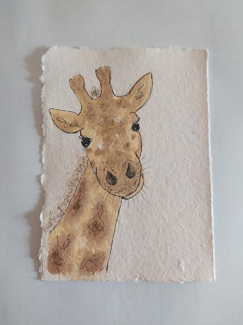Nursery Painting - Giraffe