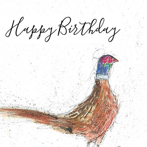 Pheasant - Happy Birthday