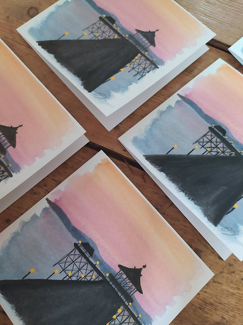 Clevedon Pier Cards (pack of 5)