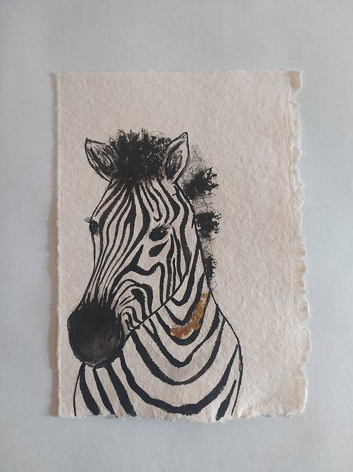Nursery Painting -Zebra