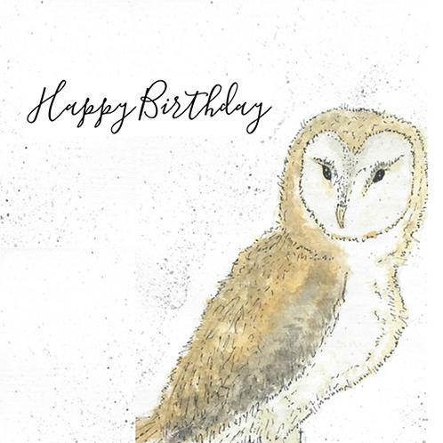 Owl - Happy Birthday
