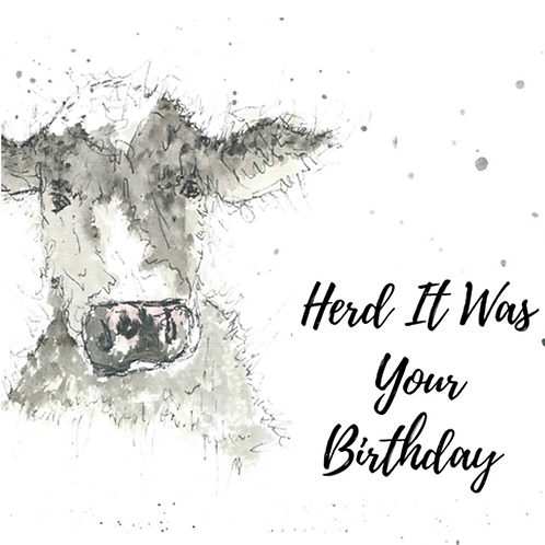 Cow - Herd it was your birthday