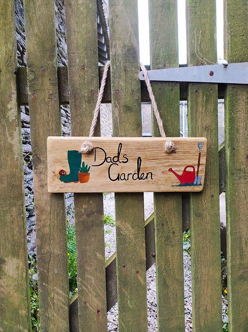 Dads Garden Sign