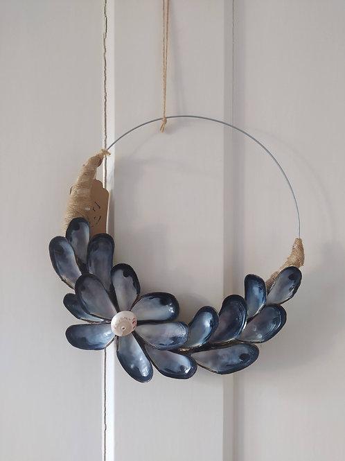 Mussel Shell Wreath