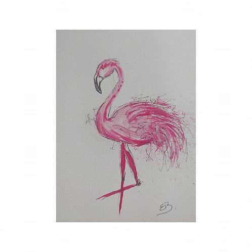 Freddie - The flamingo