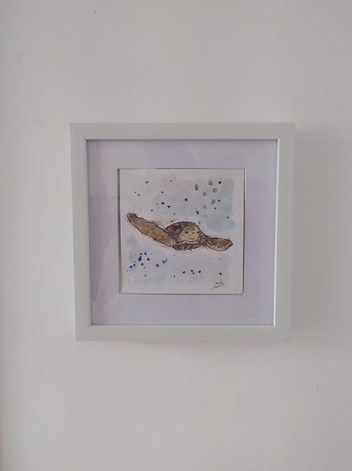 Original 'Swimming Turtle'