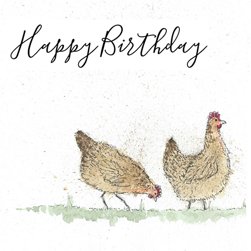 Chicken - Happy Birthday