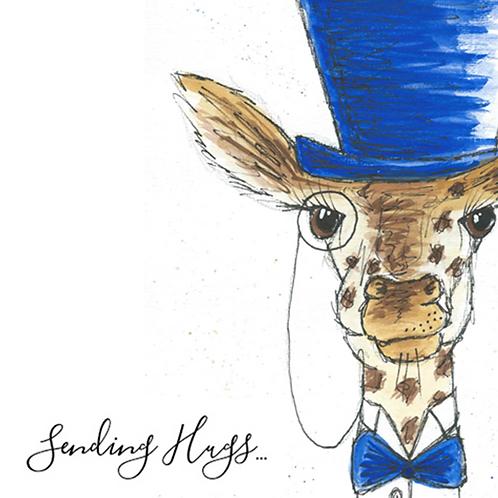 Giraffe - Sending Hugs