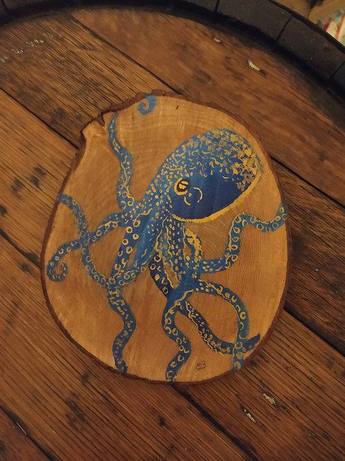 Octopus Wood Slice