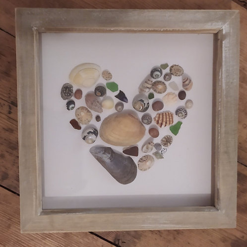 Mixed Shell Love Heart