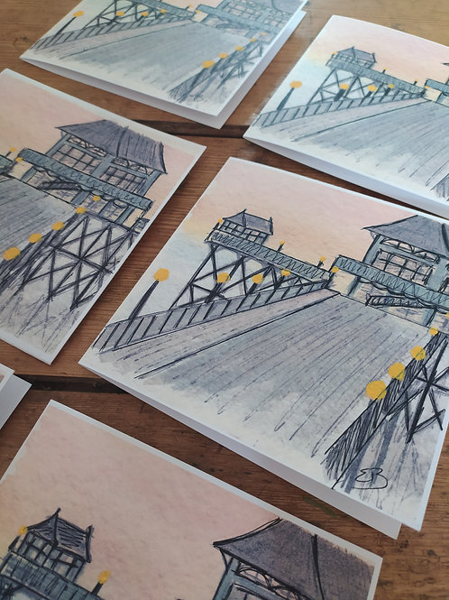 Clevedon Pier Cards