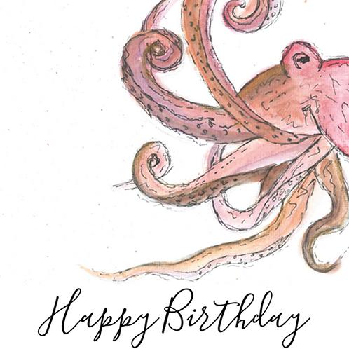 Octopus - Happy Birthday