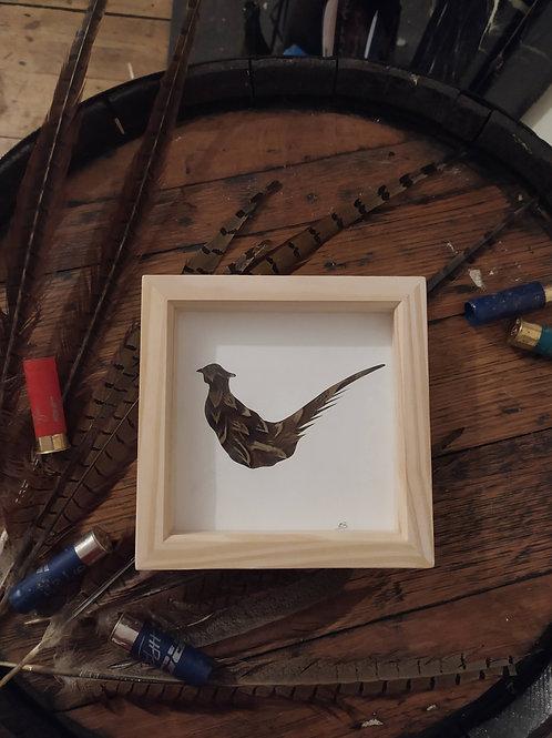 Pheasant Feather Box Frame