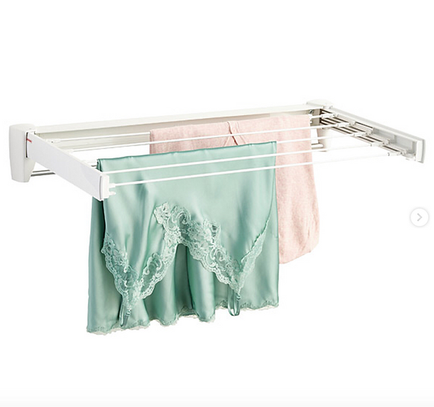 Retractable Wall Mount Clothes Drying Rack