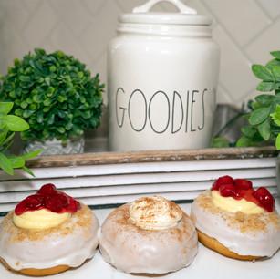 Goodies Cheesecake donuts www.thebakehousecumberland .jpg