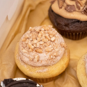 Gourmet, Cinnamon Churo Cupcake, www.thebakehousecumberland.com .jpg