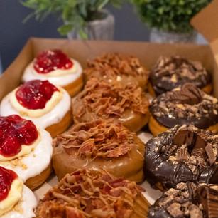 Gourmet Dozen Donuts www.Thebakehousecumberland.com .jpg
