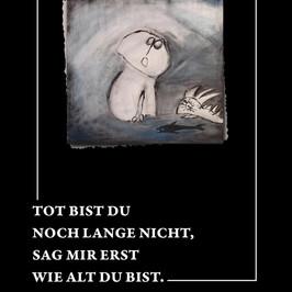 """Review: """"Tot bist du noch lange nicht..."""" von Klaus Märkert & Myk Jung (Buch)"""