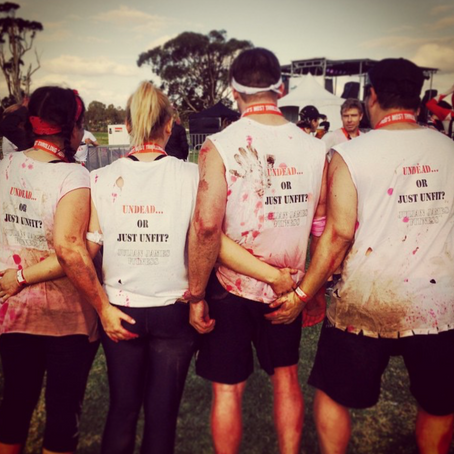Flashback Friday to our Zombie run Team JJF