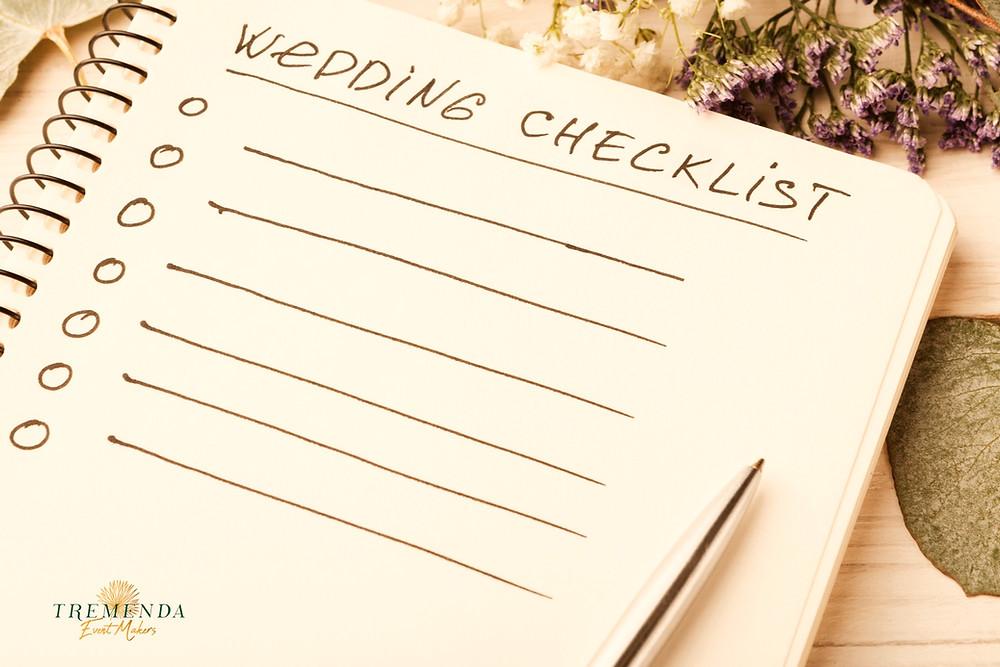 Wedding checklist image