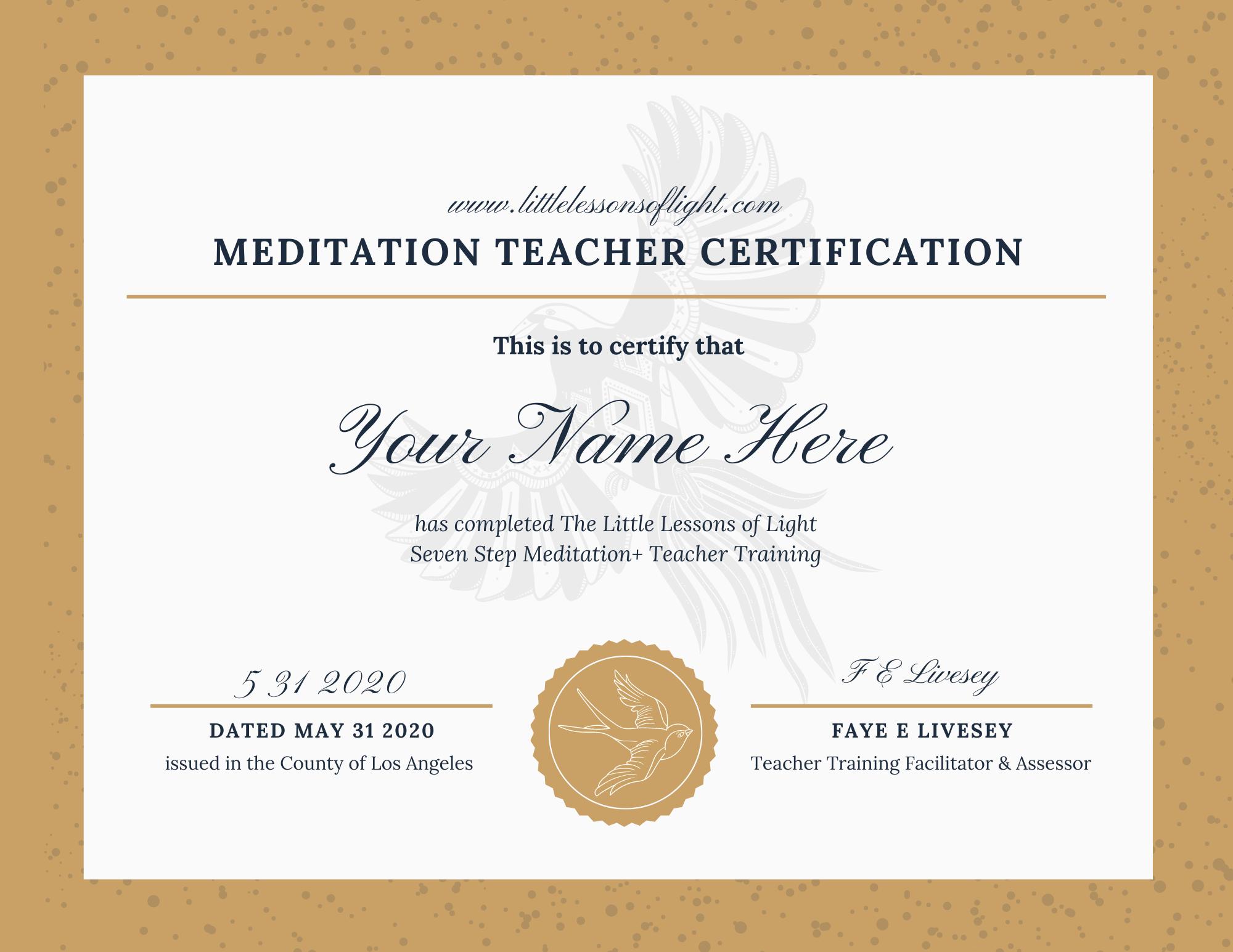 White & Gold Elegant Academic Award Cert