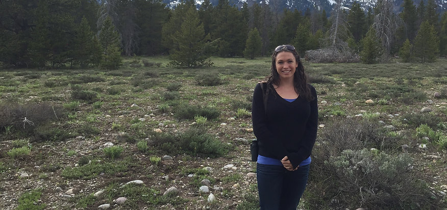 Rebecca Koch in Grand Teton National Park