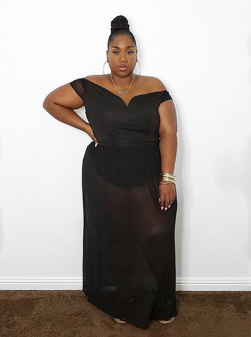 Blaque Maxi Dress