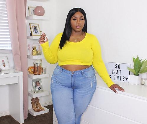 Mellow Yellow Crop Top