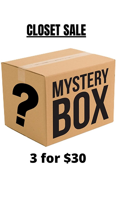 Mystery Box 3 for $30