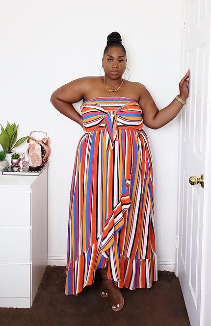 Rainbow Bright Maxi Dress